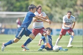 Japón frena a Selección Sub-22 en Francia