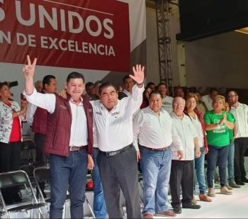 Senador Armenta da su apoyo a Barbosa, gobernador electo de Puebla