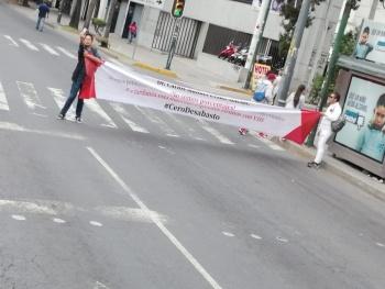 Protestas provocan cierre de estaciones de L1 del Metrobús