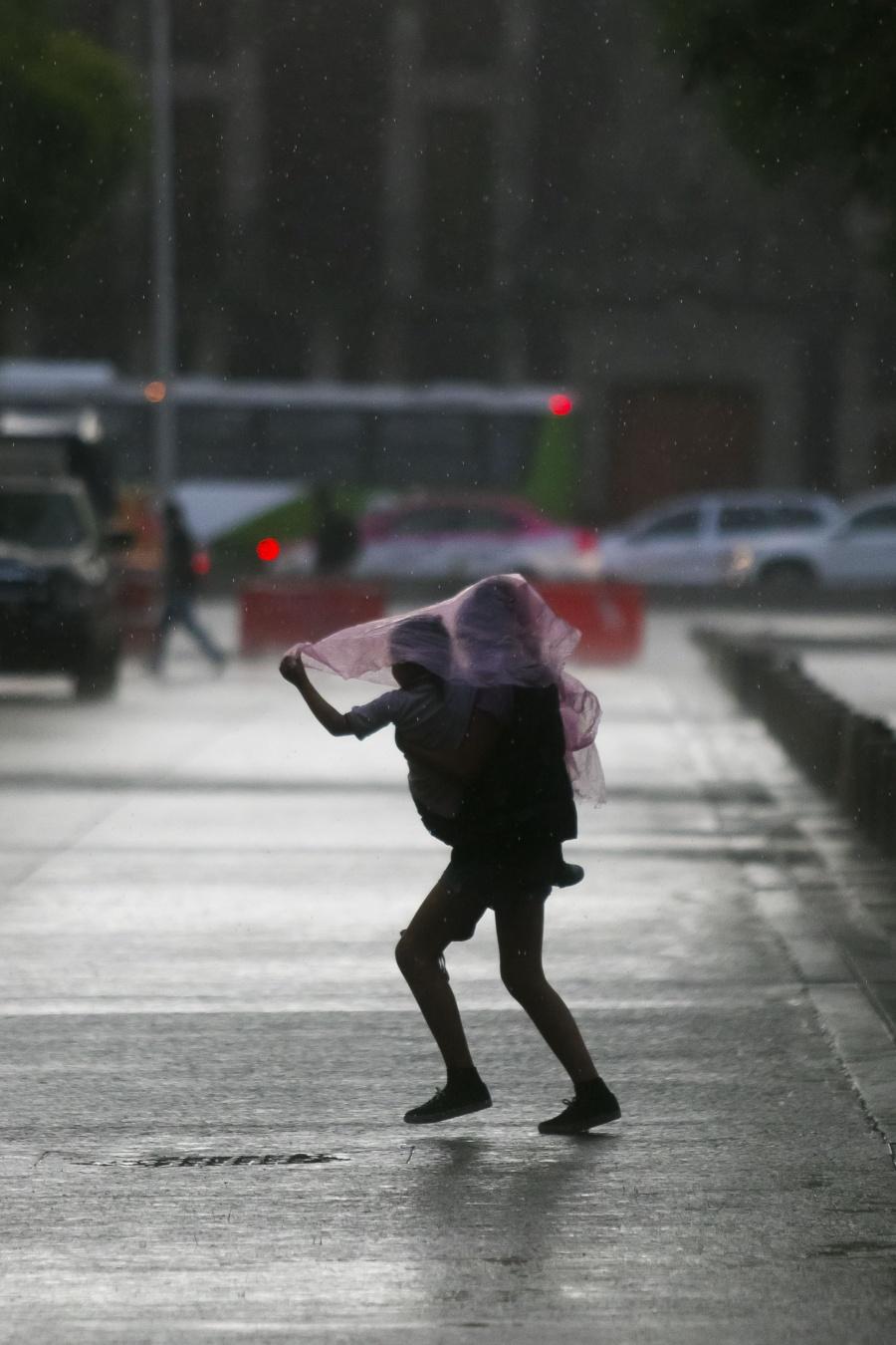 Activan Alerta Amarilla por fuertes lluvias en la CDMX