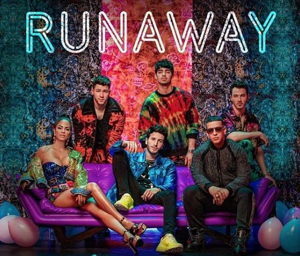 Jonas Brothers, Sebastián Yatra, Daddy Yankee y Natti Natasha, lanzan 'Runaway'