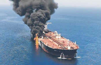EU culpa a Irán de ataque a petroleros en golfo de Omán