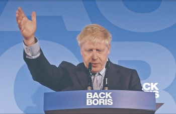 Johnson, favorito para sustituir a Theresa May