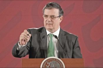México busca una migración ordenada, afirma Ebrard