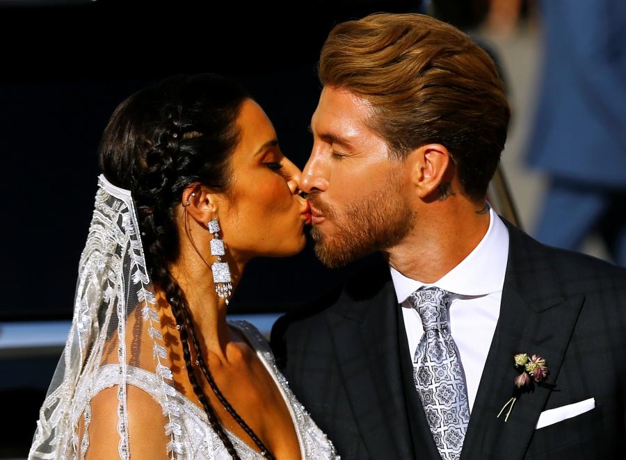 Pilar Rubio y Sergio Ramos, se casan en Sevilla