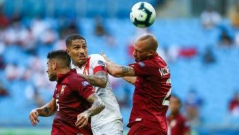 Empatan Perú y Venezuela 0-0 en su debut en Copa América