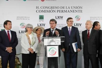 Ratificación del T-MEC por unanimidad, generará confianza en mercados: Monreal