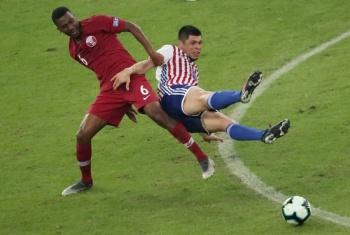 Qatar sorprende al empatar ante Paraguay, en su debut en Copa América