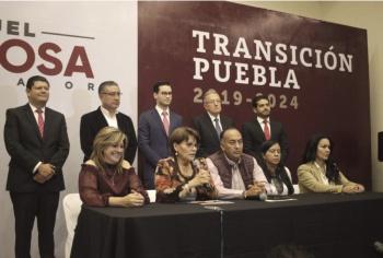 Anuncian a equipo de transición para el gobierno de Puebla