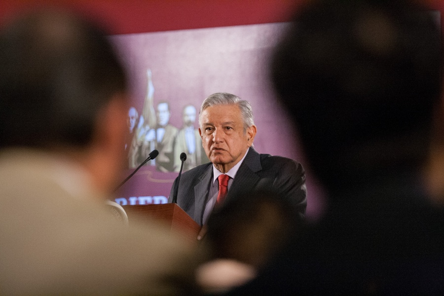 No me van a callar, dice López Obrador sobre Santa Lucía