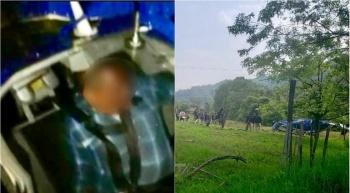 Cae helicóptero en Sultepec, Edomex y hay una persona muerta
