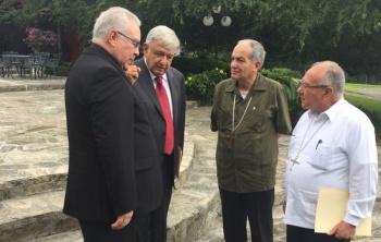 Reunión de la CEM con AMLO para entablar diálogo propositivo