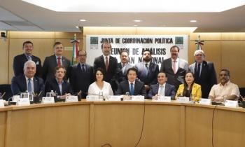 Estado de Derecho e incluyente principales herramientas para el PND, señalan legisladores