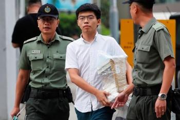 Libera Hong Kong a líder de la Revolución de los Paraguas