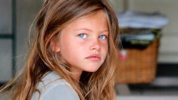 Así ha crecido 'la niña más hermosa del mundo'