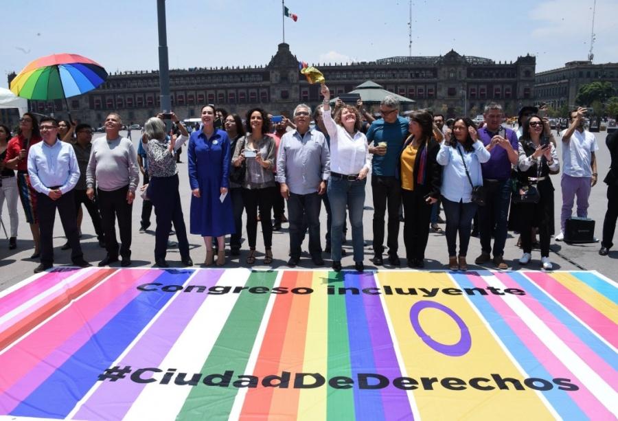 Congreso CDMX se suma a salvaguardar derechos de comunidad LGBTTTI