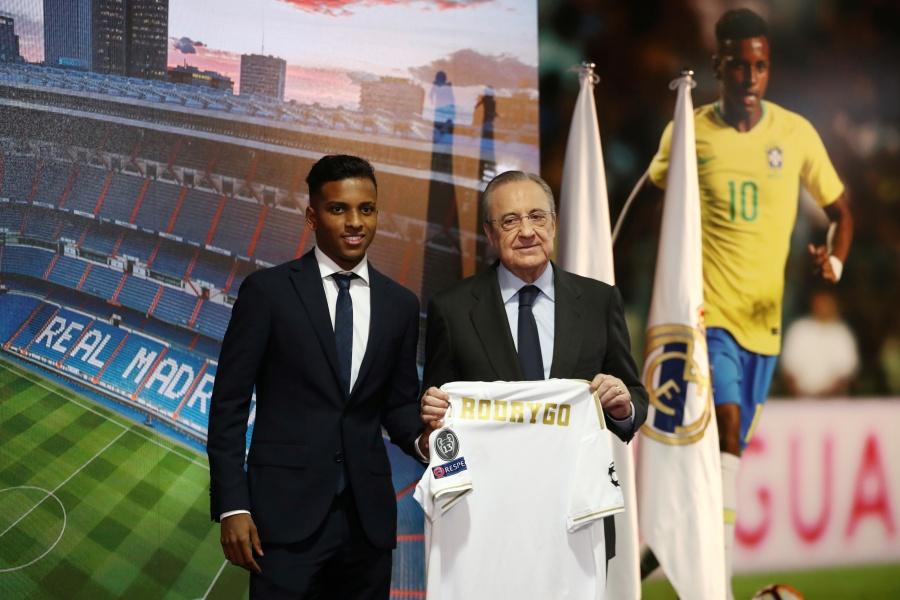 Rodrygo es presentado como nuevo refuerzo del Real Madrid