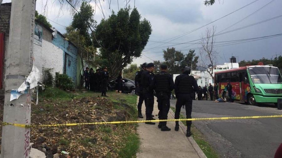 Balacera en Tlalpan deja tres muertos y dos heridos