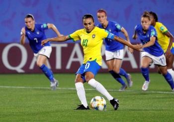 Marta, máxima anotadora en Copas del Mundo