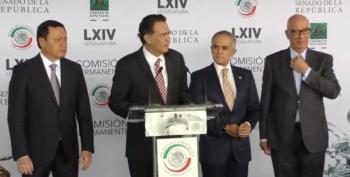 Legisladores a favor de T-MEC para ofrecer certidumbre y en contra de revocación de mandato por ser artimaña política