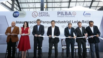 Inaugura Diego Sinhue Parque Industrial PILBA en Guanajuato