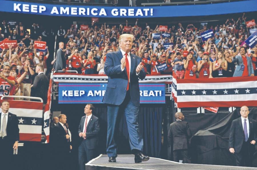 Trump: el muro va y es más grande y hermoso