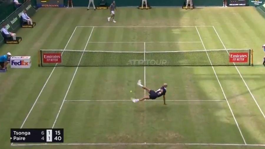 Fútbol tenis por el ATP 500 entre Tsonga y Paire