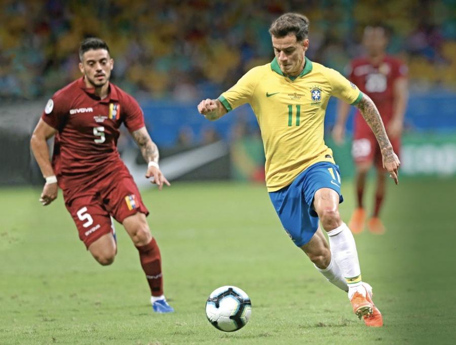 Anulan 3 goles al Anfitrión Brasil y frenan su avance