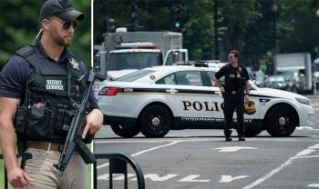 Lanzan paquete sospechoso afuera de la Casa Blanca