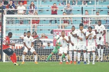 Panamá logra su primera victoria contra trinitarios