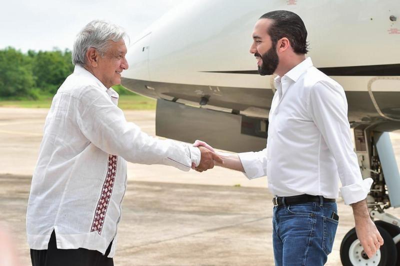 Firman acuerdo los gobiernos de México y El Salvador