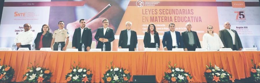 Inician foros del SNTE para la Nueva Legislación Educativa
