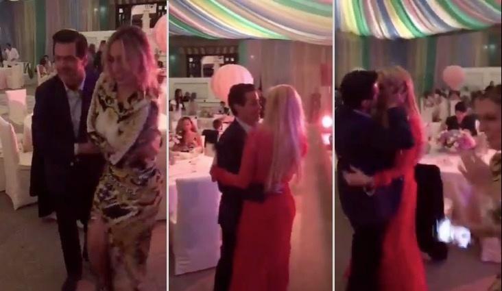 """VIDEO: Captan a Peña Nieto bailando a ritmo de """"17 años"""" con Tania Ruiz"""