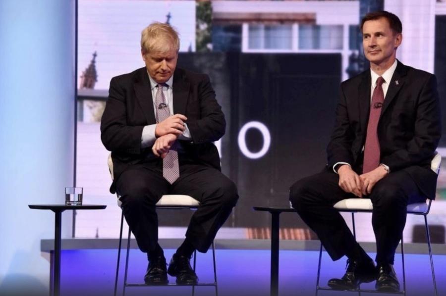 Johnson y Hunt disputarán el puesto de Theresa May