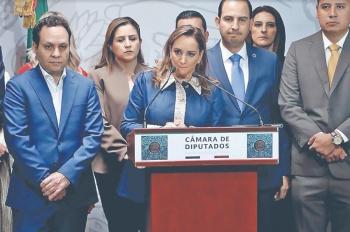 ...Y PRI, PAN, PRD Y MC contra iniciativa del Ejecutivo
