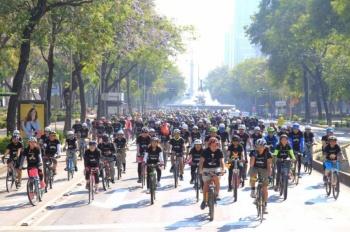 Semovi celebra el mes de la bicicleta con actividades en la CDMX