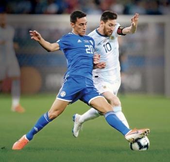 Con gol de Messi Argentina se salva de la eliminación