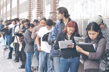 Acusan caída del 55% de empleos en 3 meses