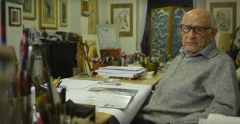 Muere Giorgio Michetti, youtuber de 107 años que enseñaba arte