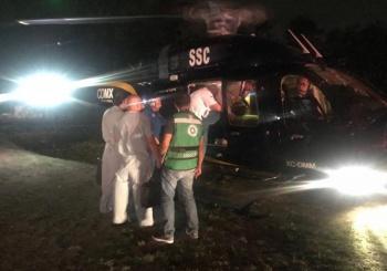 """""""Cóndores"""" trasladan órganos humanos al Centro Médico la Raza"""