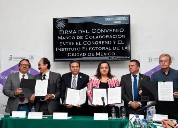 Alistan IECM y Congreso capitalino nueva división territorial