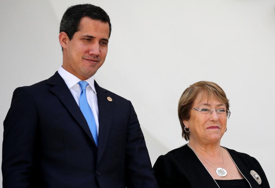Bachelet y Guaidó, conversan sobre la crisis en Venezuela