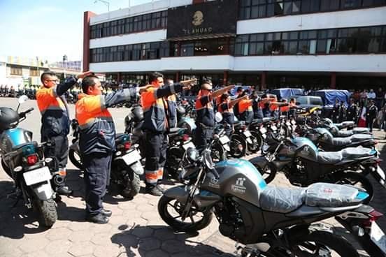 Entregan vehículos para reforzar seguridad en Tláhuac