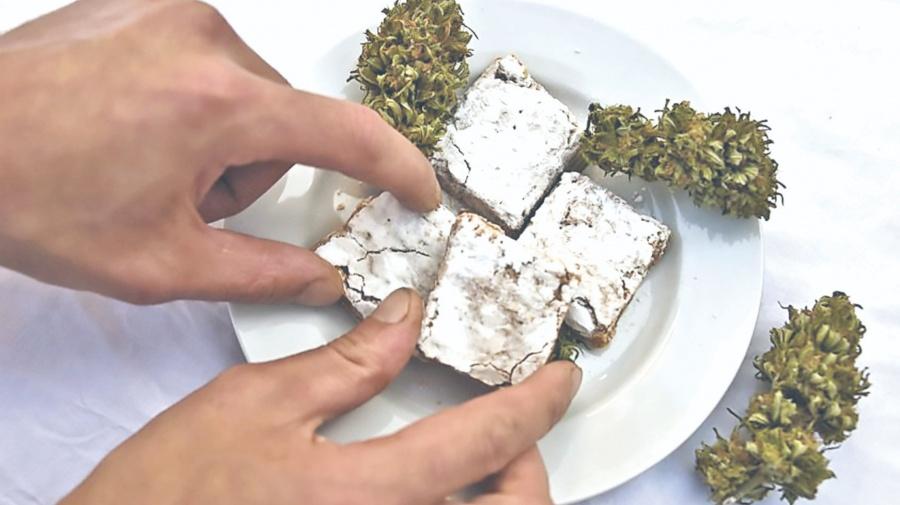 Y los alimentos a base de Mariguana… para diciembre