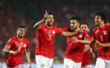 Egipto gana a Zimbabwe, en su debut en la Copa de África