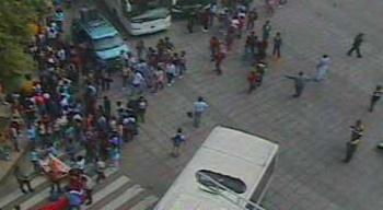 Manifestantes afectan el Paseo de la Reforma