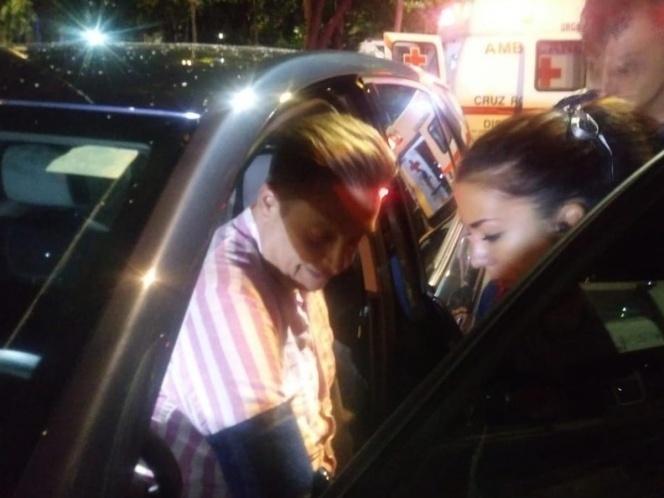 Detienen a Daniel Bisogno por atropellar a motociclista; afirman que iba alcoholizado
