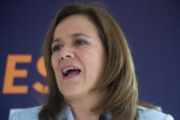 Desmiente Margarita Zavala detención de su hijo en EU