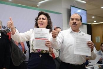 Ivonne Ortega se registra por la dirigencia nacional del PRI
