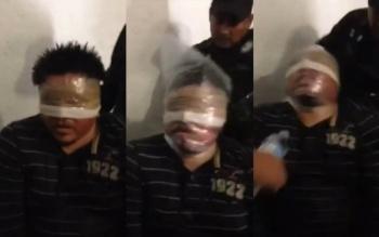 VIDEO: Presuntos policías torturan a detenido por caso Ayotzinapa